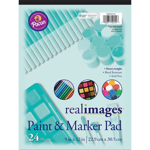 Real Images Paint & Markr Pad Heavy 9x12 24 Sheets