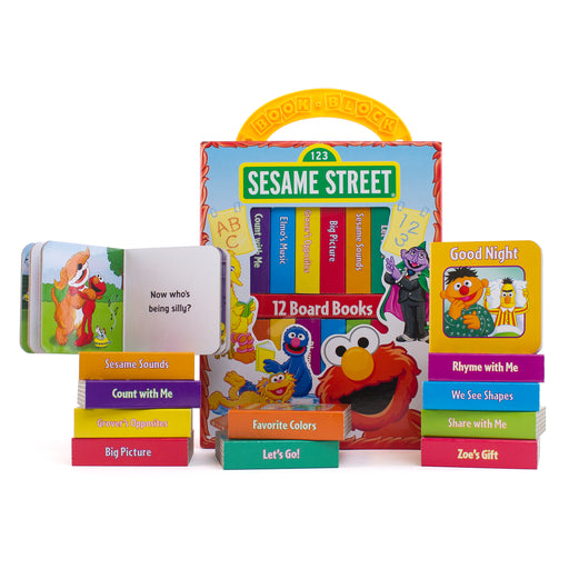 (2 St) Sesame Street Refresh My First Library