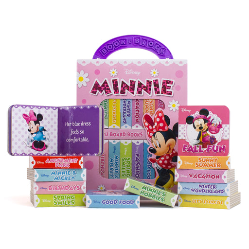 (2 St) My First Librry Minnie Mouse 12bk