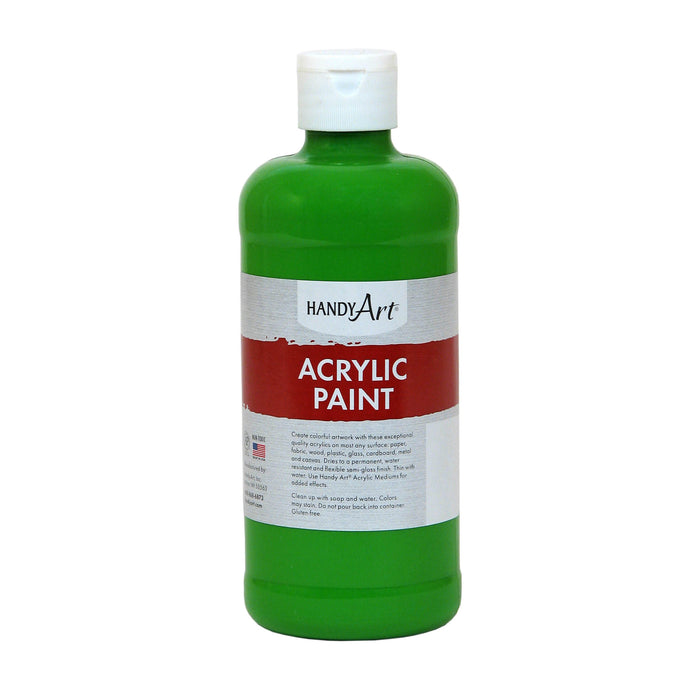 (3 Ea) Acrylic Paint 16 Oz Light Green