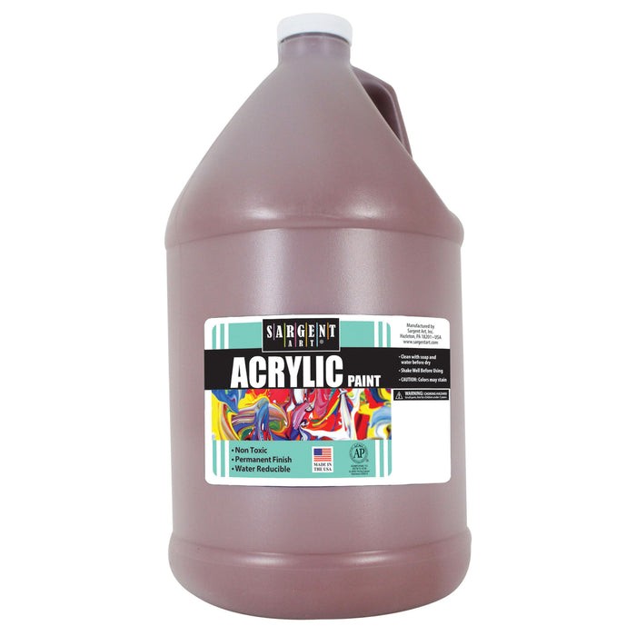 64oz Acrylic - Brown