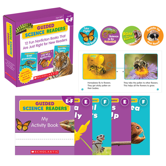 Guided Science Readers Levels E-f Parent Pack