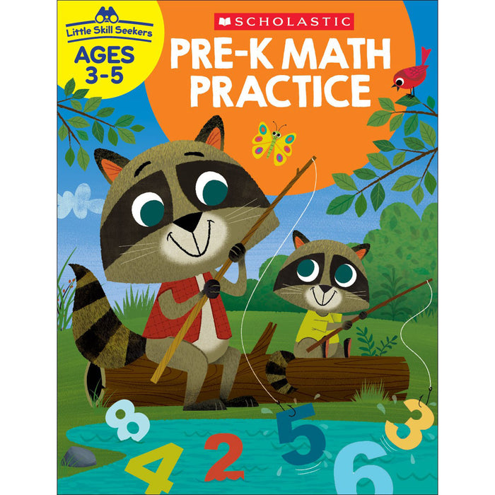 (6 Ea) Little Skill Seekers Pre-k Math Practice
