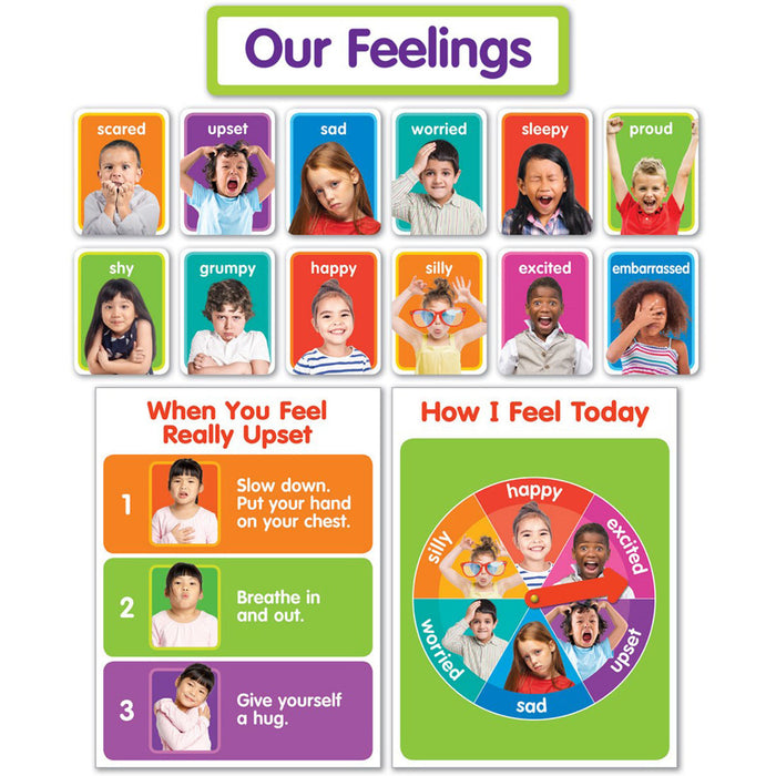 (2 St) Our Feelings Bulletin Board St