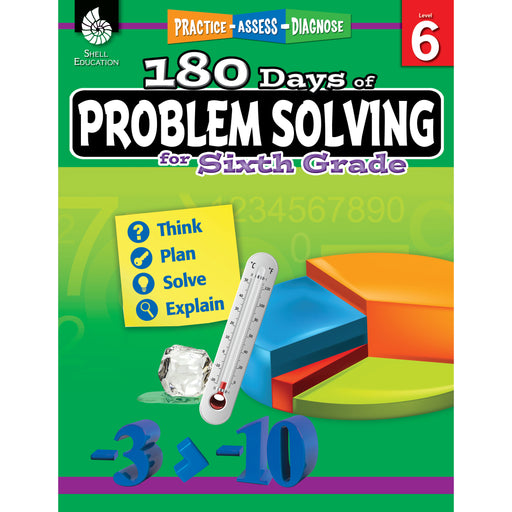 180 Day Problem Solving Gr6 Workbk