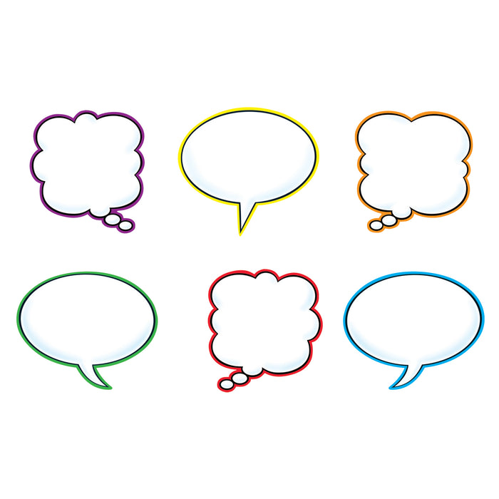 Speech Balloons Variety Pk Classic Accents