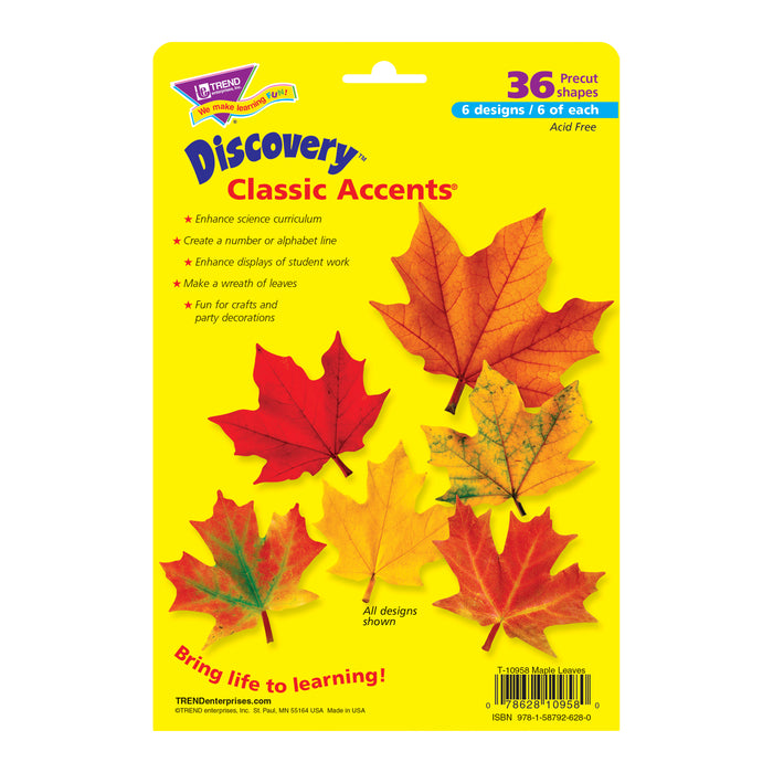 Classic Accents Maple Leaves Variety Pk-discovery