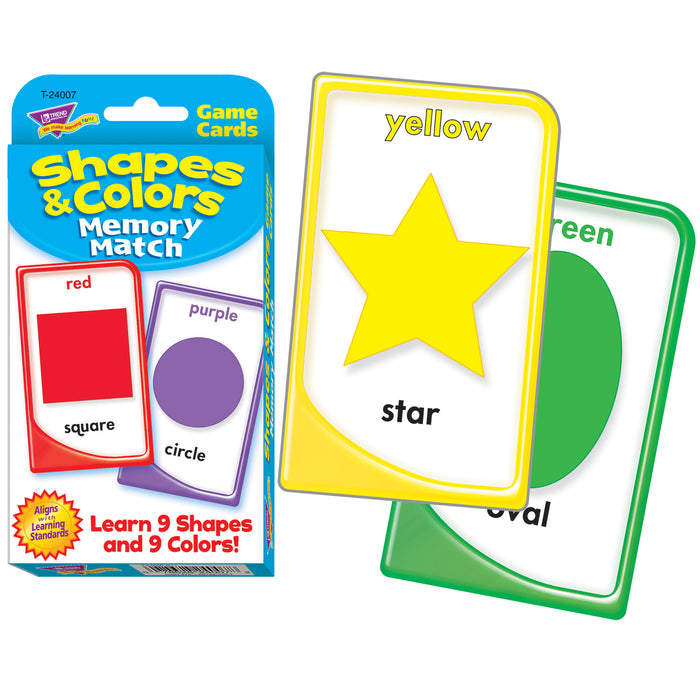 (12 Ea) Challenge Cards Colors And Shape
