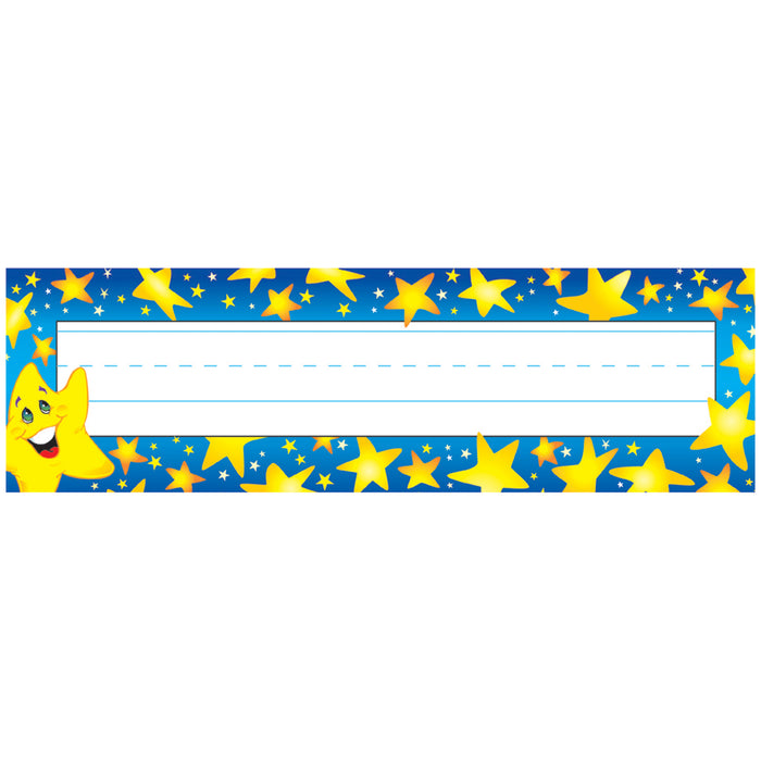 (6 Pk) Desk Toppers Super Stars 36 Per Pk 2x9