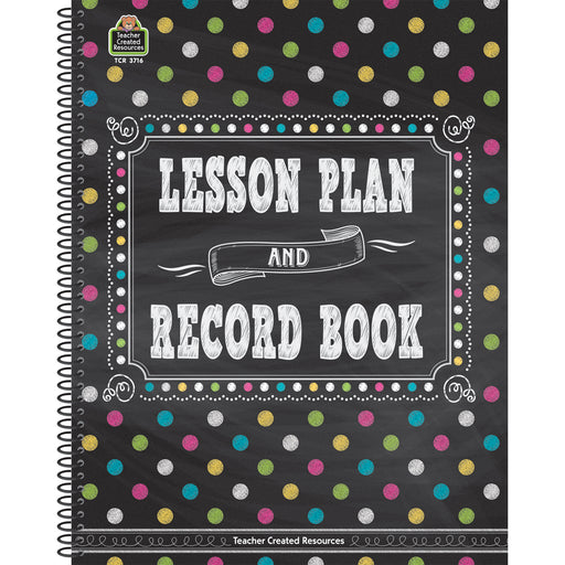(2 Ea) Chalkboard Brights Lesson Plan And Record Book