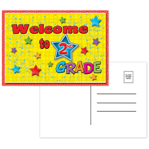 Postcards Welcome To 2nd Grade