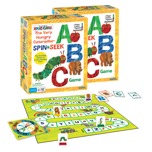 (2 Ea) The Very Hungry Caterpillar Spin & Seek Abc Game