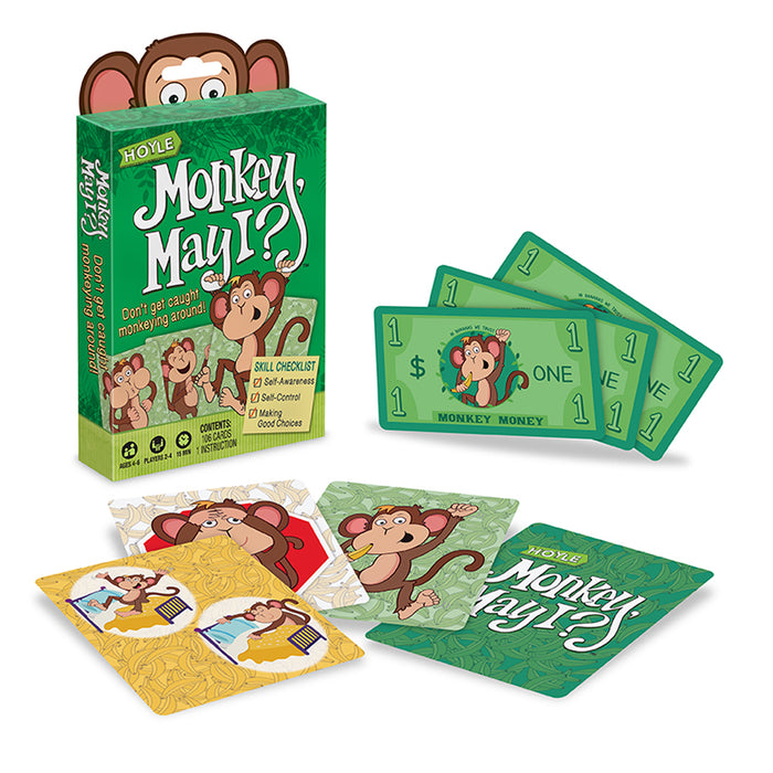 Hoyle Monkey May I Children's Game