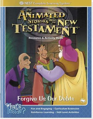 Forgive Us Our Debts Activity And Coloring Book - Instant Download