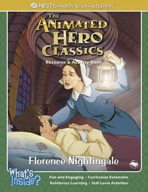 Florence Nightingale Activity And Coloring Book - Instant Download Instant Download