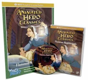 The Animated Story Of Florence Nightingale Video On Interactive DVD