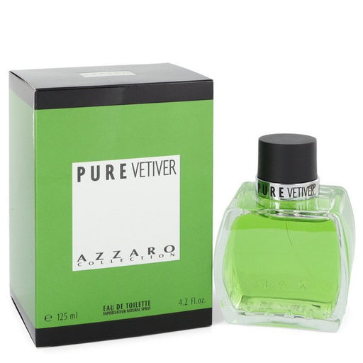 Azzaro Pure Vetiver By Azzaro Eau De Toilette Spray 4.2 Oz