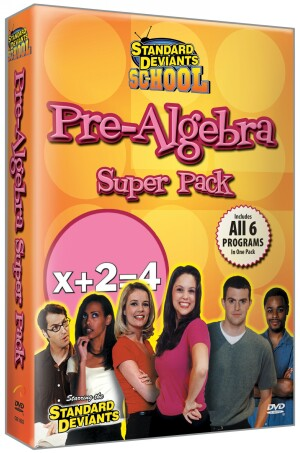 Standard Deviants School Pre-Algebra (7 Super Pack)
