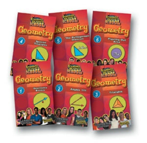 Standard Deviants School Geometry (7 Pack)