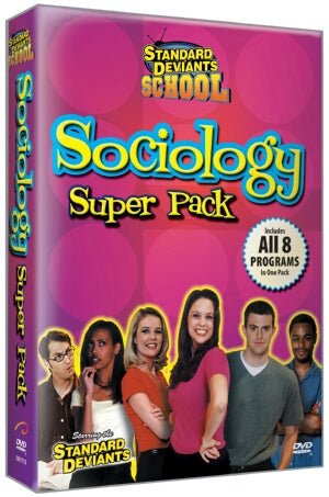Standard Deviants School Sociology (9 Super Pack)