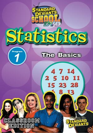 Standard Deviants School Statistics Module 1: The Basics