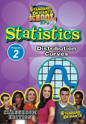 Standard Deviants School Statistics Module 2: Distribution Curves