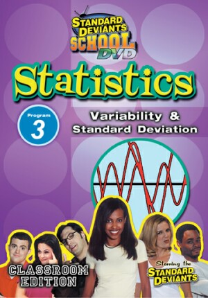 Standard Deviants School Statistics Module 3: Variability and Standard Deviation
