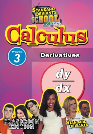 Standard Deviants School Calculus Module 3: Derivatives