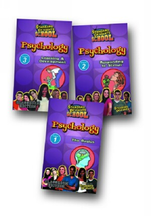 Standard Deviants School Psychology (3 Pack)