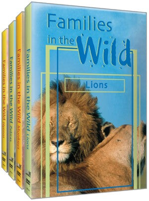 Just the Facts: Families in the Wild (4 Pack)