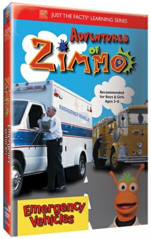 Just the Facts: Adventures of Zimmo: Emergency Vehicles