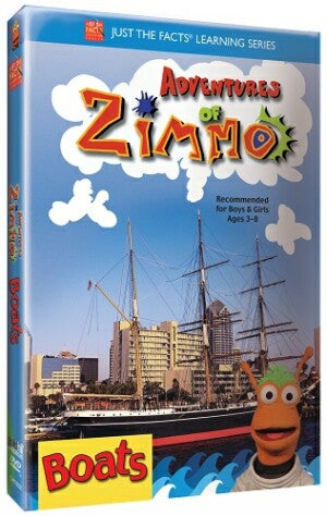 Just the Facts: Adventures of Zimmo: Boats