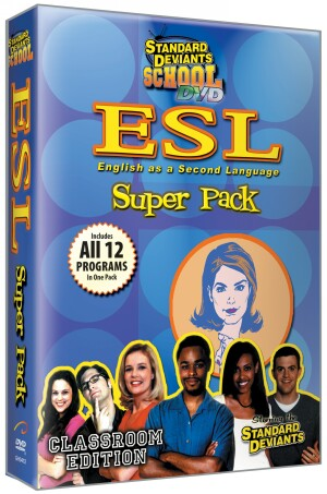 Standard Deviants School ESL (12 Pack)