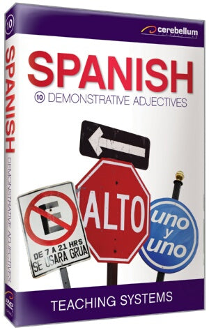 Teaching Systems Spanish Module 10: Demonstrative Adjectives