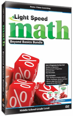 Light Speed Math: Beyond Basics Bundle