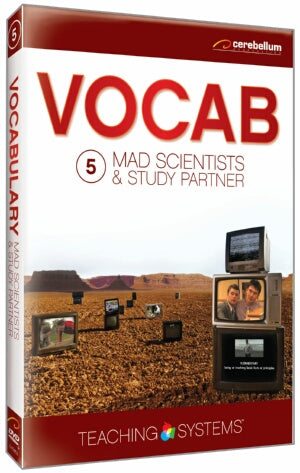 Teaching Systems Vocab:Mad Scientists & the Study Partners