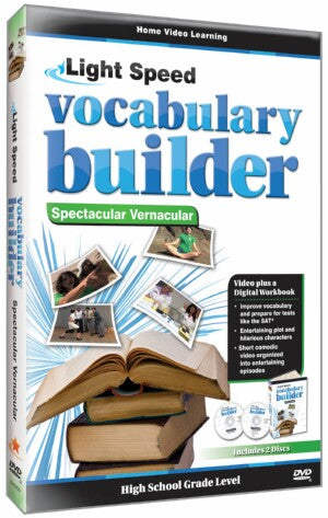 Vocabulary Builder Spectacular Vernacular