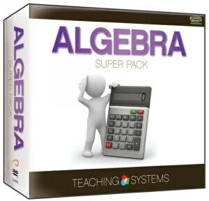 Teaching Systems Algebra Super Pack