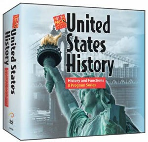 U.S. History : History and Functions 8 Program Series DVD