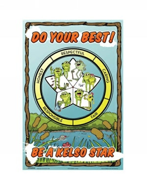 Kelso Star Poster Set For Grades K-3 (10 Pack)