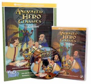 The Animated Story Of Galileo Video On Interactive DVD