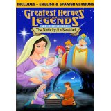 Greatest Heroes Nativity Christmas DVD