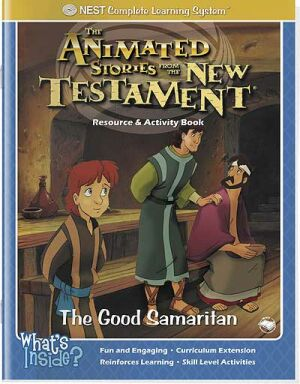 The Good Samaritan Activity And Coloring Book - Instant Download