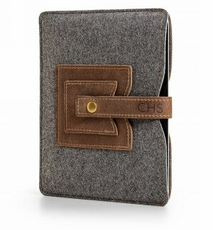 Embossed Leather Tablet Sleeve
