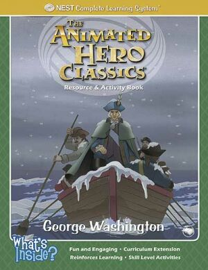 George Washington Activity And Coloring Book Printed Book