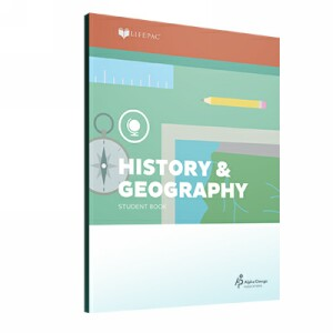 LIFEPAC Fourth Grade History & Geography Set of 10 LIFEPACs Only