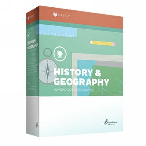 LIFEPAC Fourth Grade History & Geography Set