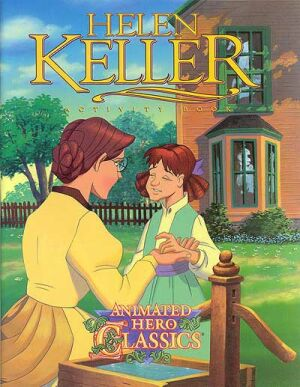 Helen Keller Activity And Coloring Book- Instant Download Instant Download