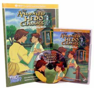 The Animated Story Of Helen Keller Video On Interactive DVD