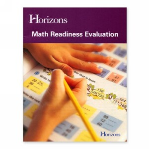 Horizons Math Readiness Evaluation Tests